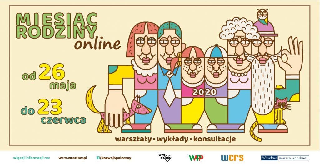 Miesiąc Rodziny online od 26 maja do 23 czerwca