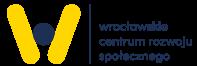 logo wcrs po lewej po prawej wrocławskie centrum rozwoju społecznego