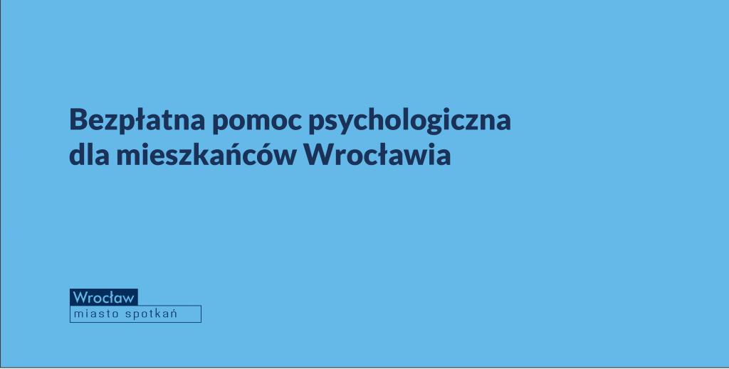 pomoc psychologiczna bezpłatna