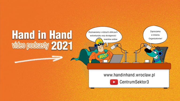 Hand in Hand video podcasty 2021 mini komiks