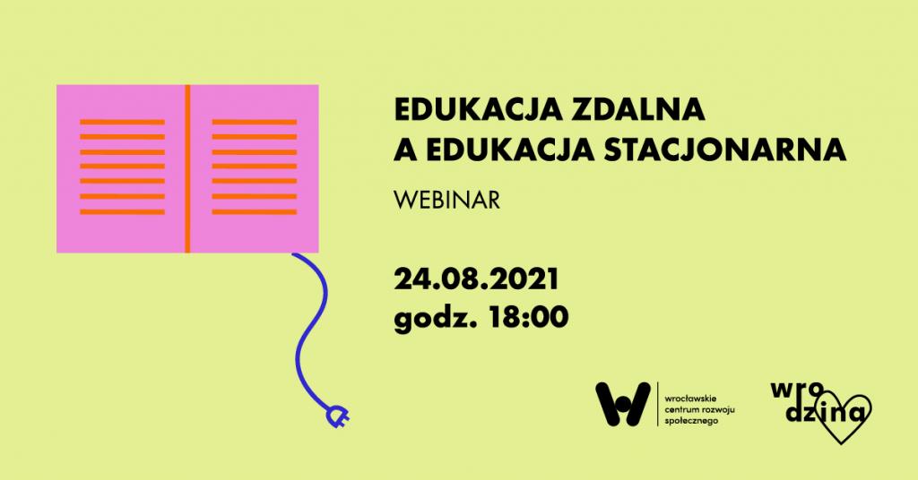 edukacja zdalna a edukacja stacjonarna